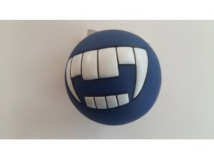 Míček  s úsměvem - modrý