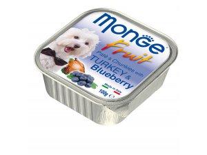 MONGE FRUIT Dog Krocan s borůvkou 100g/32ks