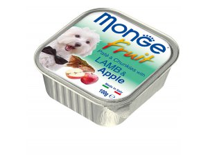 MONGE FRUIT Dog Jehně s jablkem  100g/32ks