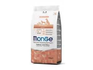 MONGE Dog Losos, rýže 25/14  12kg