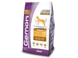 GEMON Dog Maxi Puppy Kuřecí s rýží 28/15 3kg