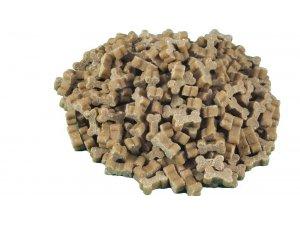 Mini Bones Kuřecí 0,5kg - Poloměkké kostičky - kostičky kuřecí hromádka.jpg
