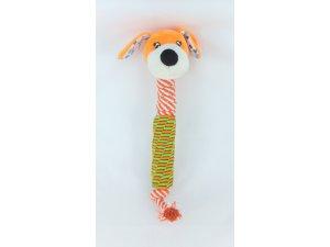 Přetahovadlo PES - oranžový 35 cm