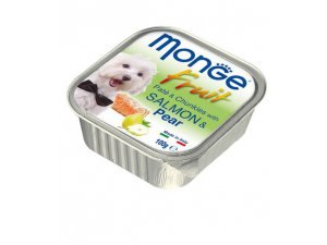 MONGE FRUIT Dog Losos s hruškou 100g/32ks
