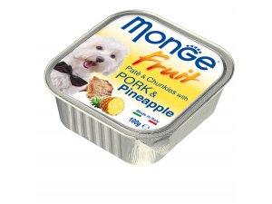 MONGE FRUIT Dog Vepřové s ananasem 100g/32ks