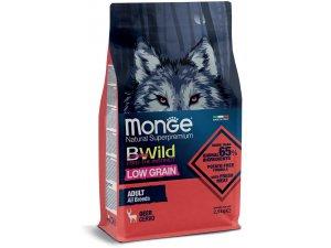 MONGE BWILD Dog - Low Grain - Srnčí, Adult 15kg chovatelské balení - BWild Srnčí Adult Low Grain.jpg