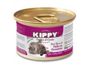 KIPPY Cat tele&rajčata 200g/24kart.
