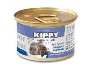 KIPPY Cat krevety&treska 200g/24kart.