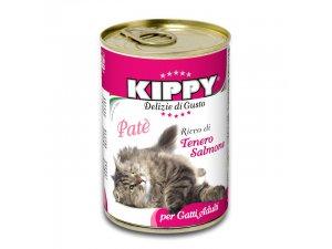 KIPPY Cat losos 400g/24kart.