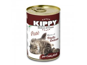 KIPPY Cat telecí 400g/24kart.