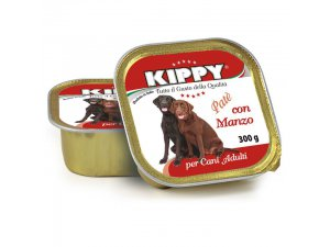 KIPPY Dog alu s hovězím 300g/18kart.