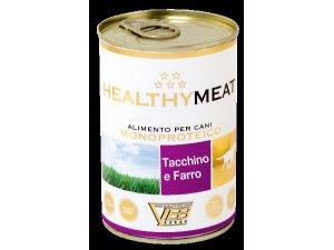 HEALTHY MEAT Dog krůta & pšenice špalda 400g/24kart.