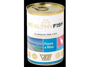 HEALTHY MEAT Dog Štěně  ryby & rýže 400g/24kart.
