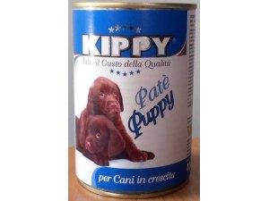 KIPPY Dog štěně paté telecí 400g/24kart.