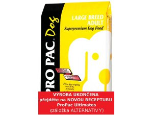 PRO PAC Dog Large Breed Adult 23/13 20kg