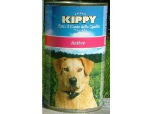 KIPPY Dog active 1250g/12kart.