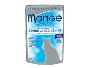 MONGE Cat kapsička tuňák,sled 80g/24bal.