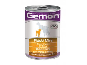 GEMON Dog HP Mini kousky kuře, krocan 415g/24bal
